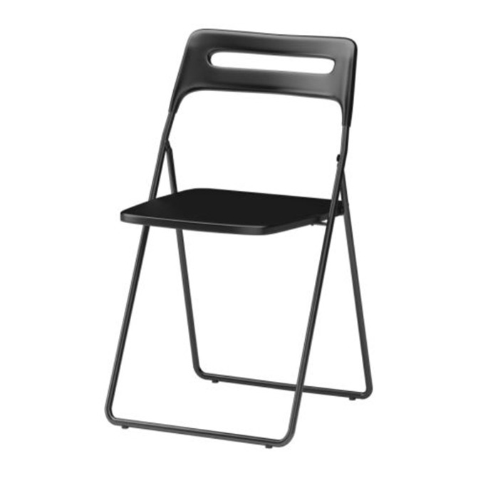 Rental Black Folding Chair