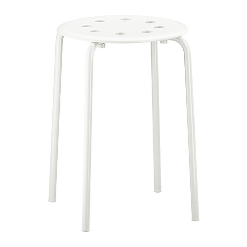Rental White Stool