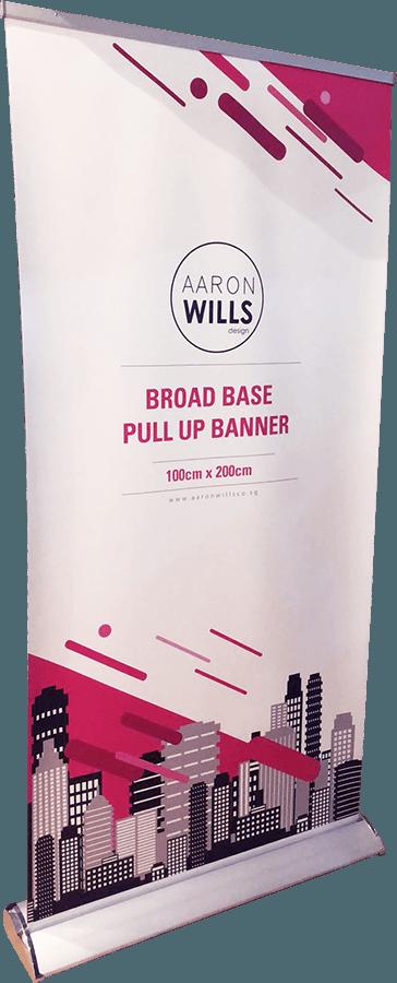 BroadBase Pull Up Banner